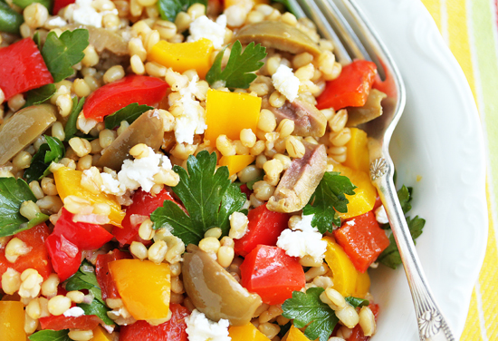 Wheat Berry Salad 7