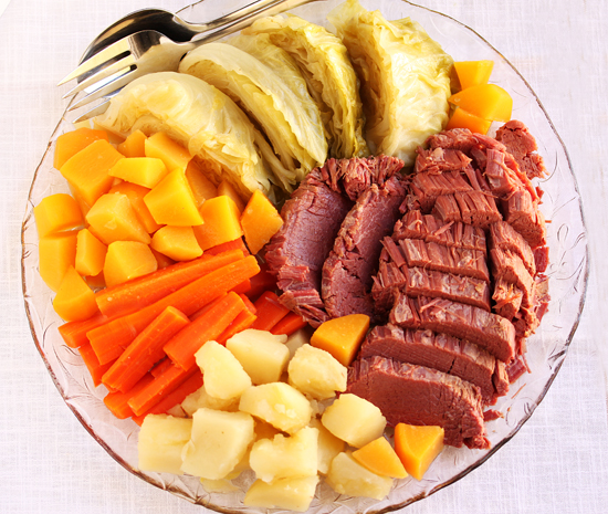Corn Beef and Cabbage 1