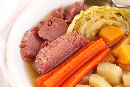 Post image for Corned Beef and Cabbage for St. Patrick's Day