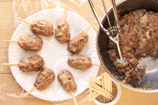 Lamb & Shrimp Kabobs with Red Harrisa 1