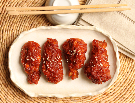 Post image for Korean Chicken Wings with Gochujang