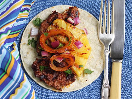 Pork Achiote Pineapple Taco 1