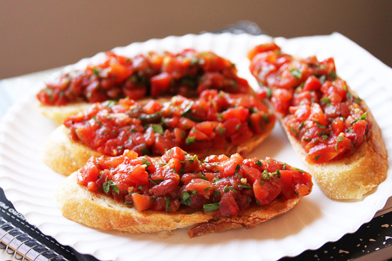 Post image for Tomato Bruschetta