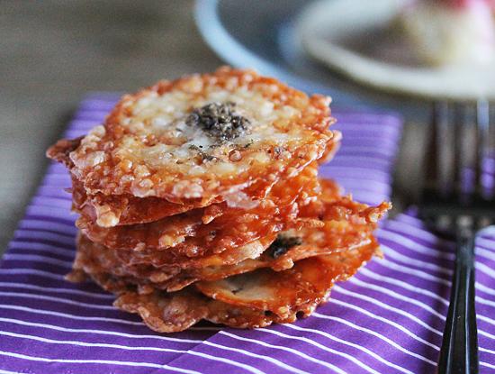 Caciotta Truffle Cheeese Chips