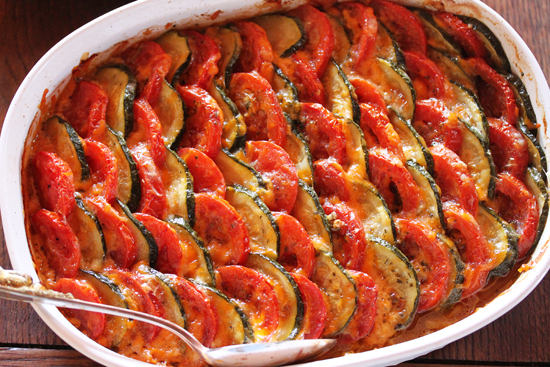 Post image for Tomato & Zucchini Tian