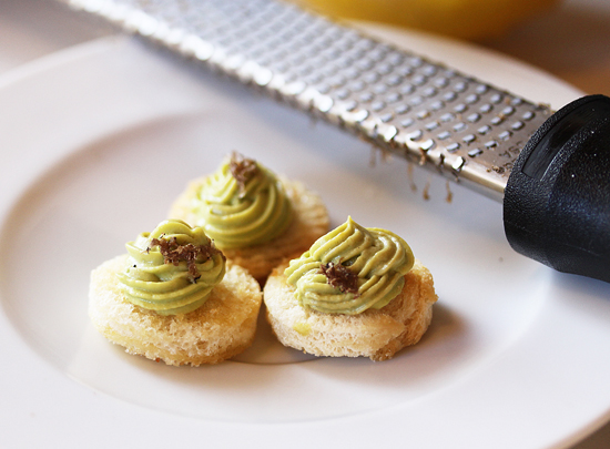 Truffled Avocado Mousse