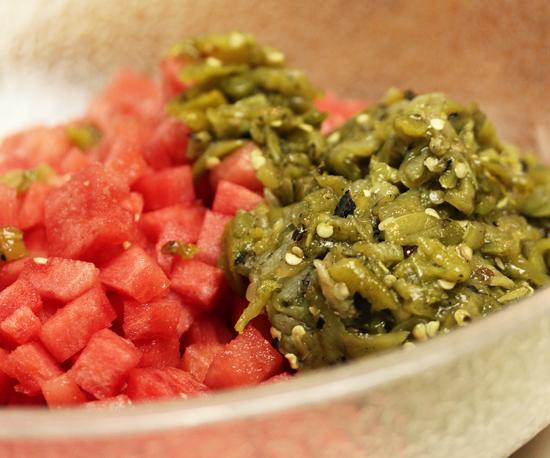 Watermelon & Hatch Chili Gazpacho 2