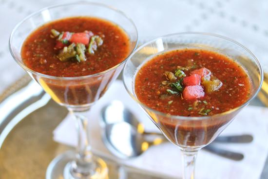 Watermelon & Hatch Chili Gazpacho 6