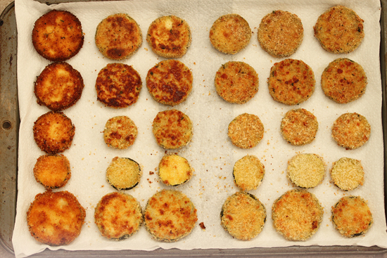 Parmesan Panko Zucchini Fries 3