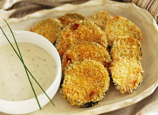 Parmesan Panko Zucchini Fries 4