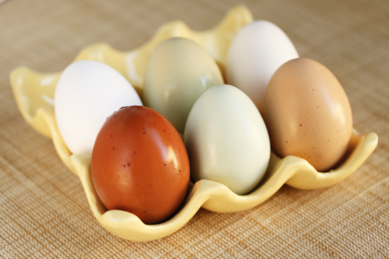 Poached Egg, Prosciutto, Roasted Asparagus & Frisée with Romesco ...
