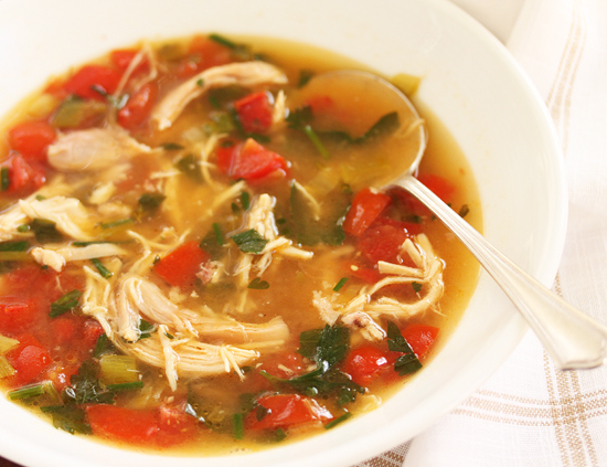 Post image for Simply Made Chicken Soup with Comté Croutons From Grace-Marie's Kitchen at Bristol Farms
