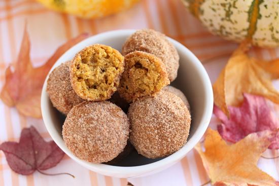 Cinnamon-Sugared Pumpkin Donut Holes 3