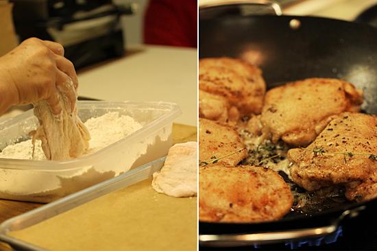 Riesling Chicken & Mushroom Casserole 2