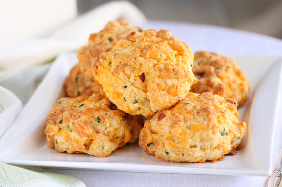 Chedar & Bacon Biscuits 2