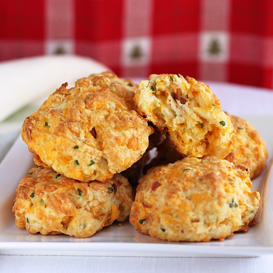 Post image for Cheddar & Bacon Biscuits