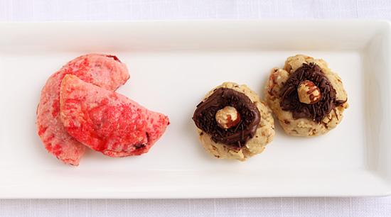 Cranberry Delights & Hazelnut Kisses 1