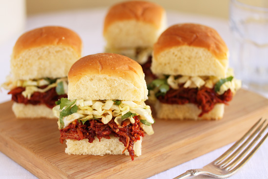 Spicy Korean BBQ Turkey Sliders with Sesame Ginger Slaw 2
