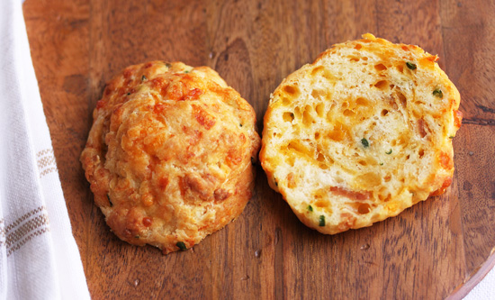 Cheddar & Bacon Biscuit