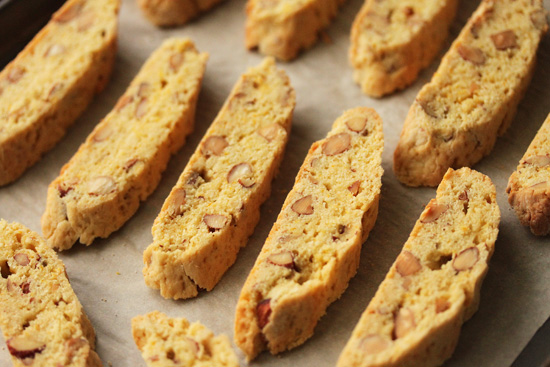 Orange Almond Biscotti  18