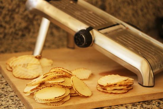 Gaufrette Potato Crisps 2