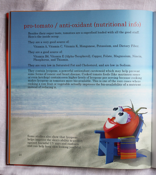 Pro-Tomato / Antioxidant (Nutritional Information)