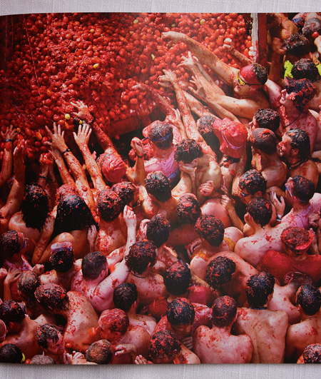 World's Biggest Tomato Food Fight, Plaza del Pueblo, Bunol, Spain