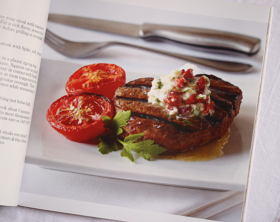 Steak & Tomatoes with Sun-Dried Tomato & Blue Cheese Butter
