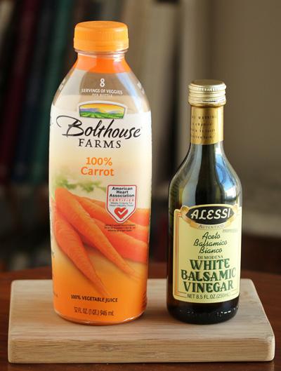 Confetti Salad with Carrot Juice Vinaigrette 3