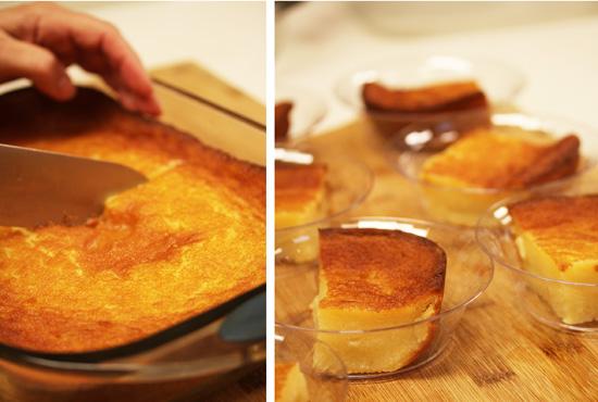 Hawaiian Custard Cake with Carmelized Pineaple Sauce 3