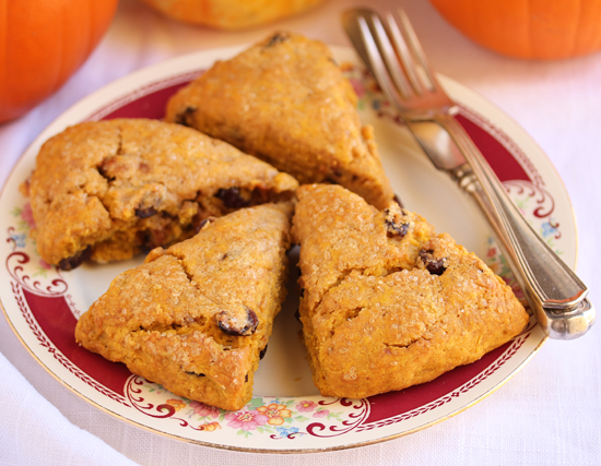 Pumpkin Cranberry Scones 3