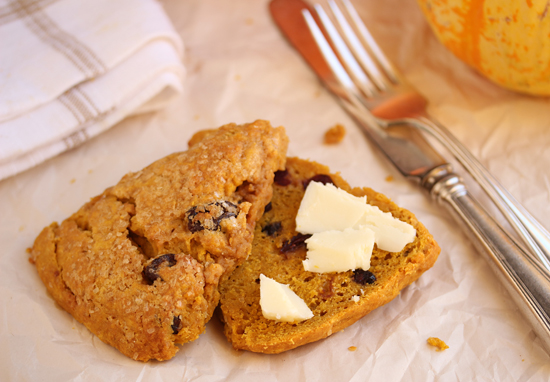Pumpkin Cranberry Scones 4