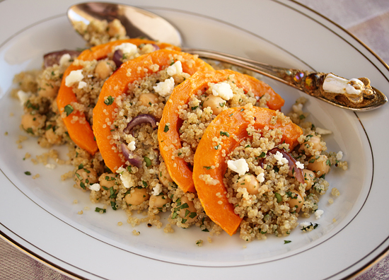 Post image for Butternut & Quinoa Salad with Lemon & Honey