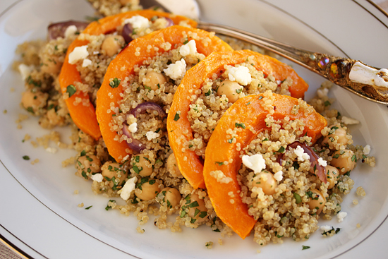 Butternut Quinoa Salad with Lemon & Honey 3