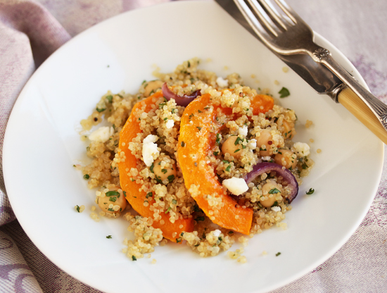 Butternut Quinoa Salad with Lemon & Honey 4