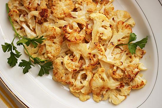 Cauliflower Roasted with Lemon Butter 1