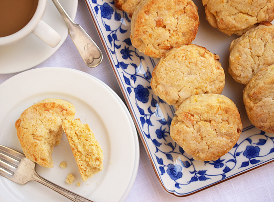 White Chocolate Orange Scones 7