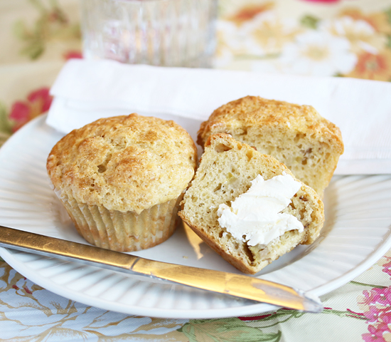 Easter Banana Muffins 1