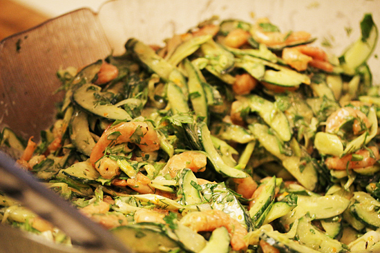 Roasted Shrimp and Pineapple Salad 3.1