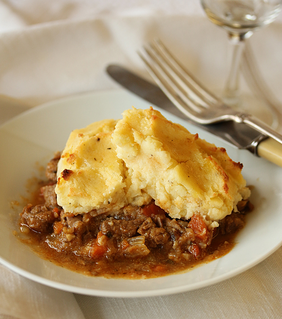 Post image for Lamb Shepherd's Pie & Parmesan Ricotta Potatoes