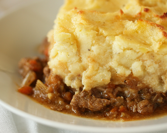 Lamb Shephard's Pie with Parmesan Ricotta Potatoes 7