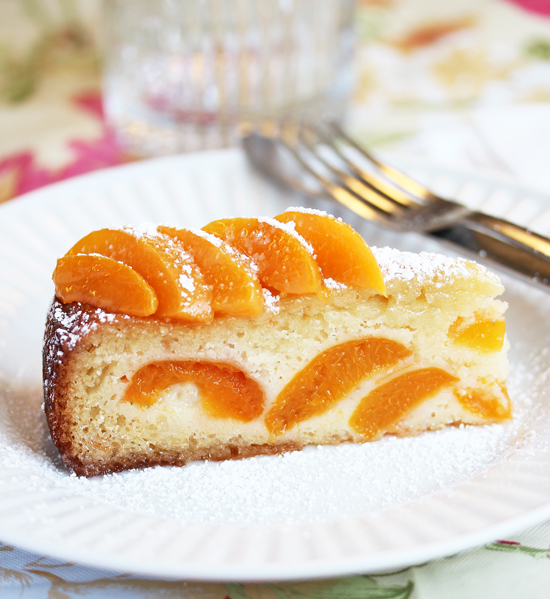 Post image for Springtime Apricot Cake at Grace-Marie's Kitchen