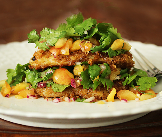 Post image for Chipotle Swai Fillet with Rainier Cherry Salsa