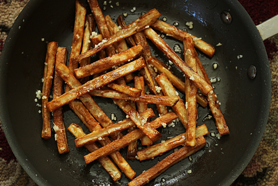 Garlic Butter Fries 3