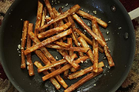 Garlic Butter Fries 3