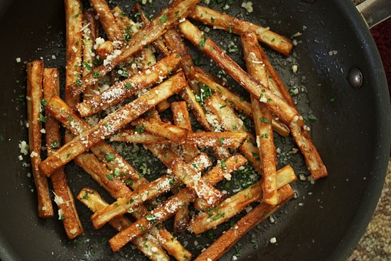 Garlic Butter Fries 4