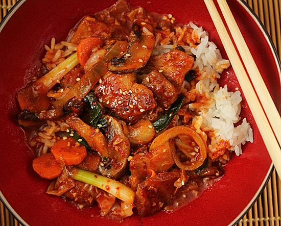 Korean Dak Galbi 5