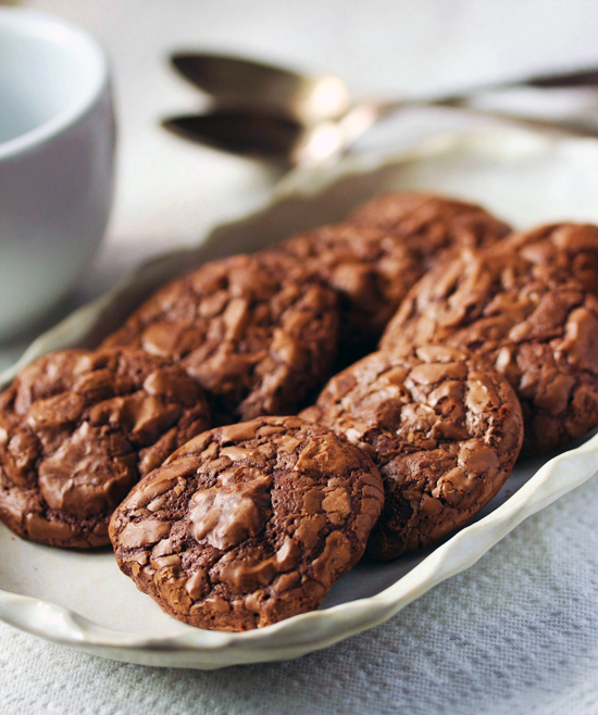 Post image for Chocolate Brownie Toasted Pecan Cookies