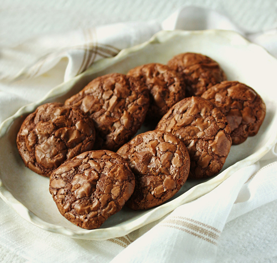 Chocolate Brownie Cookies 3