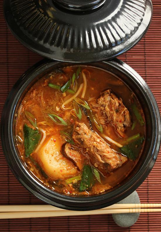 Gamjatang ~ Korean Pork Bone & Potato Soup 1